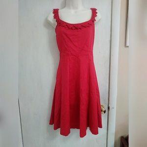Nine West fit & flare dress
